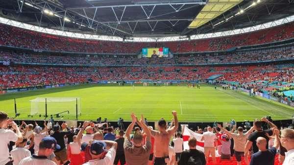 Wembley Stadium, section: 110, row: 22