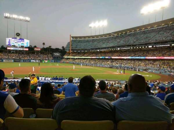 Dodger Stadium, section: 19FD, row: U, seat: 4