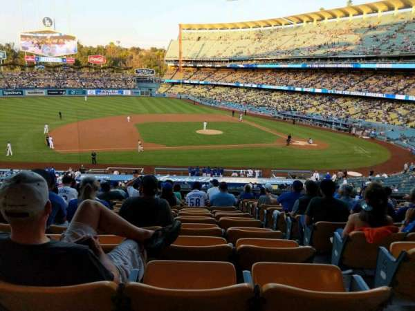 Dodger Stadium, section: 133LG, row: O, seat: 2