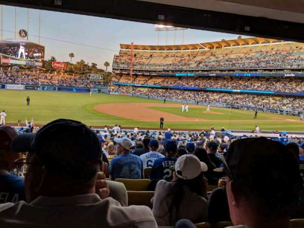 Dodger Stadium, section: 31FD, row: W, seat: 7