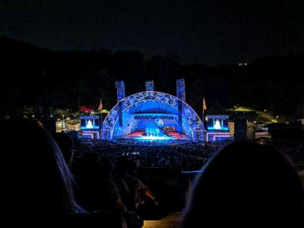 Hollywood Bowl, section: M2, row: 7, seat: 101