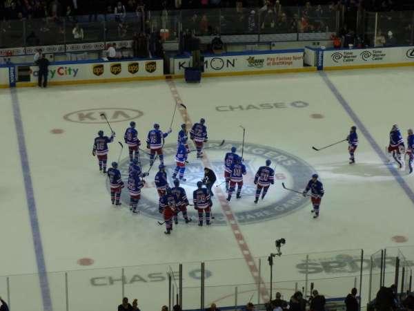 Madison Square Garden, home of New York Rangers, New York Knicks, St ...