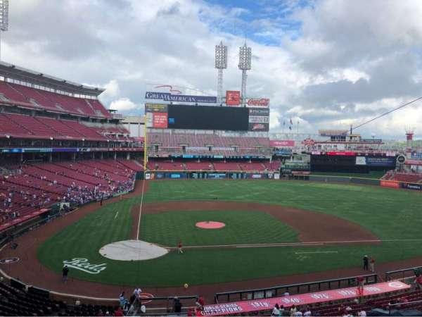 Great American Ball Park, section: CLBCAM, row: GA