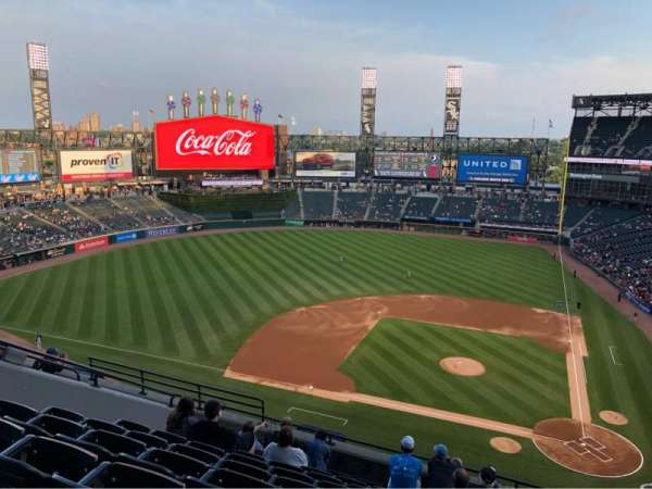 Guaranteed Rate Field, section: 537, row: 9, seat: 11