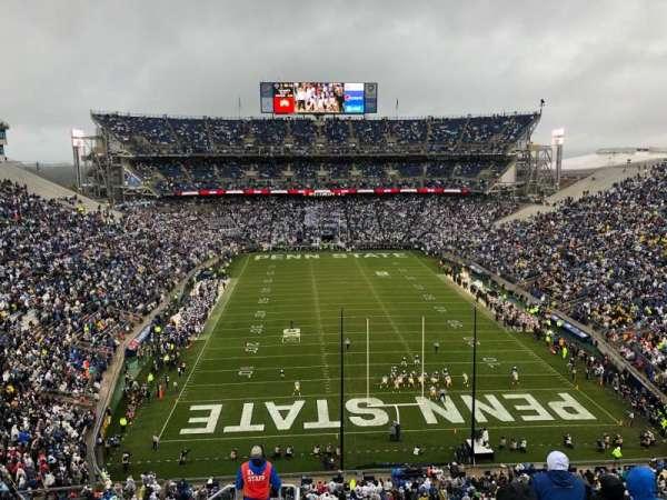 Beaver Stadium, section: NGU, row: 71, seat: 17