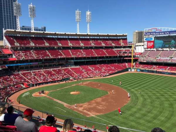 Great American Ball Park, section: 433, row: G