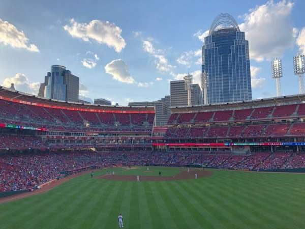 Great American Ball Park, section: 143, row: W, seat: 15