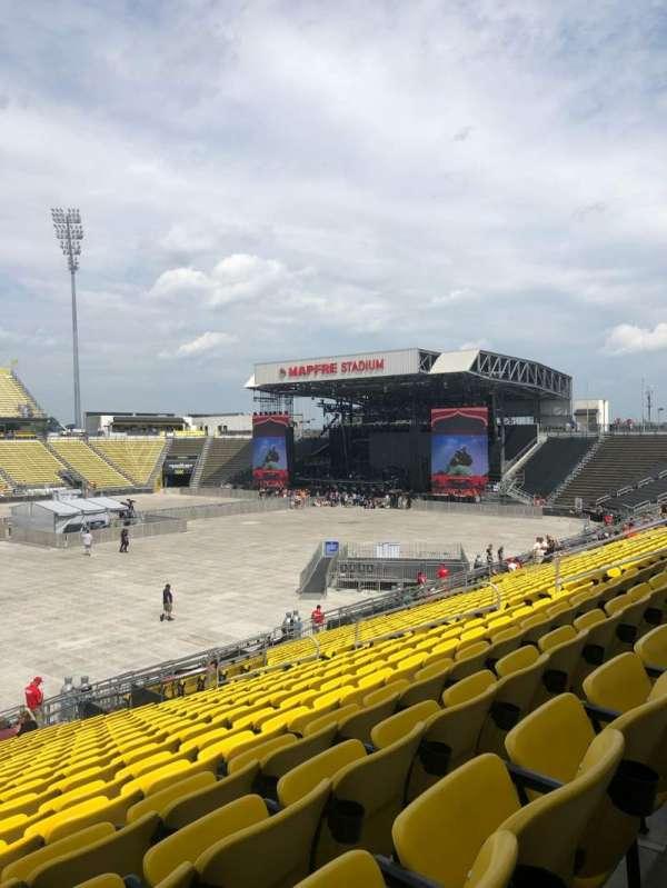 Mapfre Stadium, section: 108