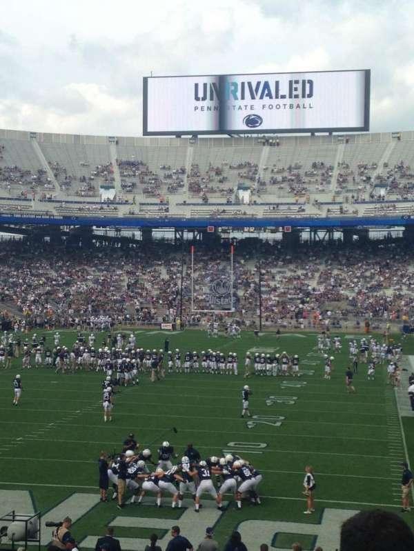 Beaver Stadium, section: SD, row: 25