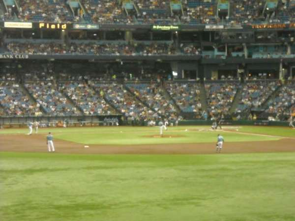 Tropicana Field, section: 145