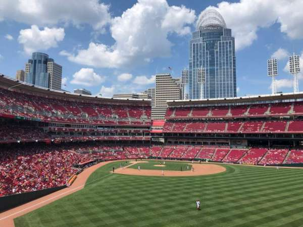 Great American Ball Park, section: 142, row: Z, seat: 25