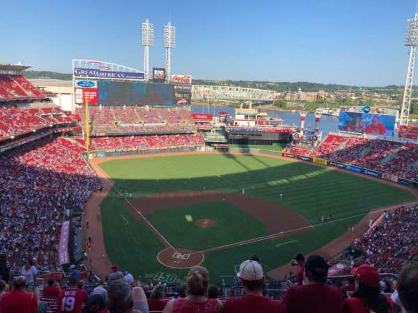 Great American Ball Park, section: 525, row: P, seat: 5
