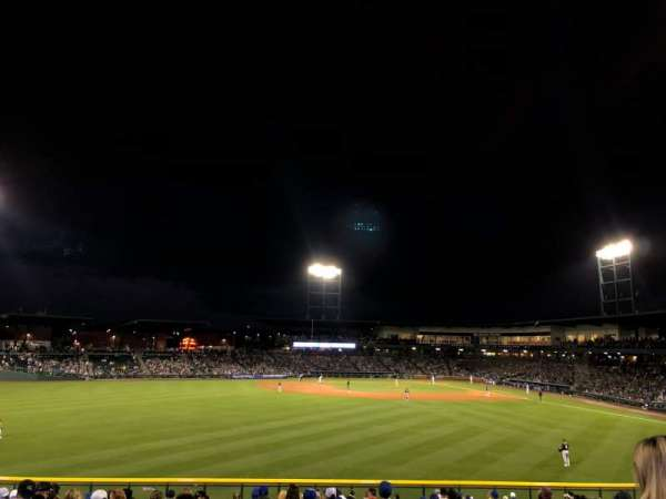 Sloan Park, section: LF LAWN, row: GA
