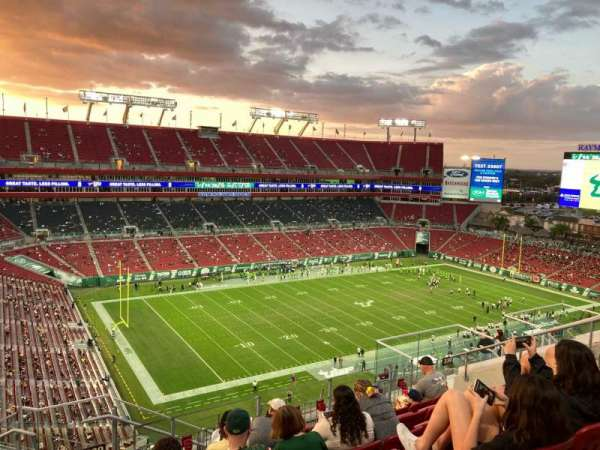 Raymond James Stadium, section: 330, row: G, seat: 16