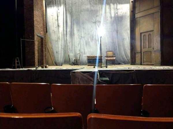 Allen Theatre, section: Orchestra, row: E, seat: 208