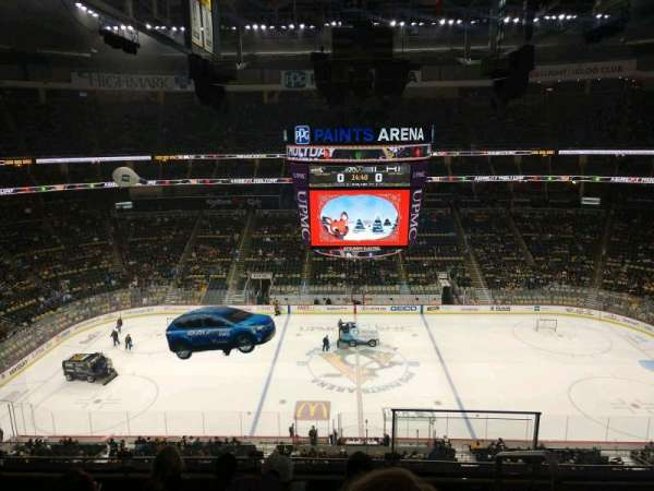 PPG Paints Arena, section: 220, row: E, seat: 1