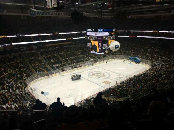 PPG Paints Arena, section: 223, row: J, seat: 19