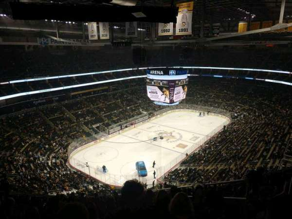 PPG Paints Arena, section: 225, row: Q, seat: 3