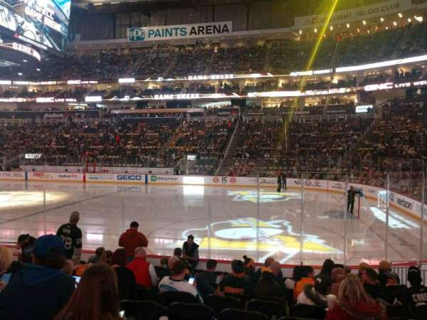 PPG Paints Arena, section: 110, row: K, seat: 26