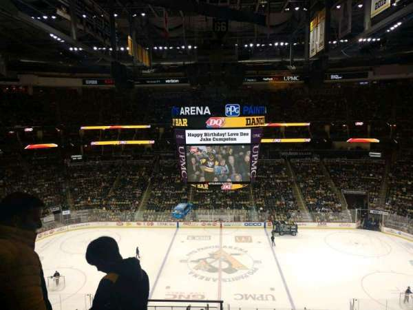 PPG Paints Arena, section: 202, row: D, seat: 14