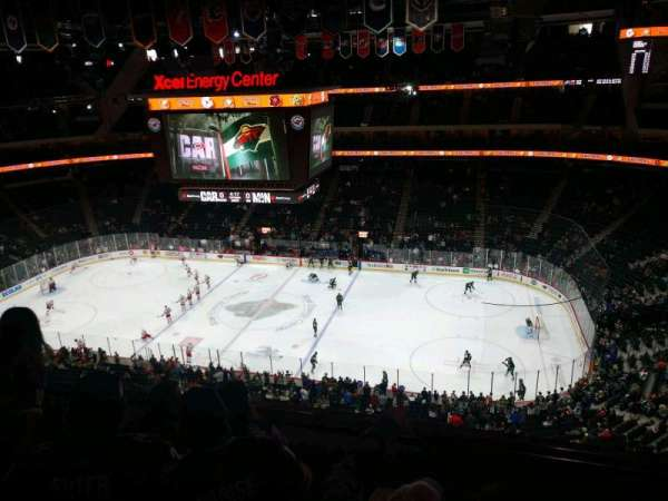 Xcel Energy Center, section: 202, row: 4, seat: 12