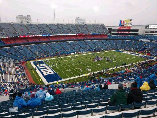 Buffalo Bills Stadium, section: 338, row: 25, seat: 17
