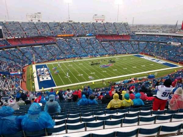 Buffalo Bills Stadium, section: 315, row: 34, seat: 16