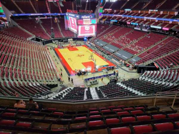 Toyota Center, section: 403, row: 8, seat: 8