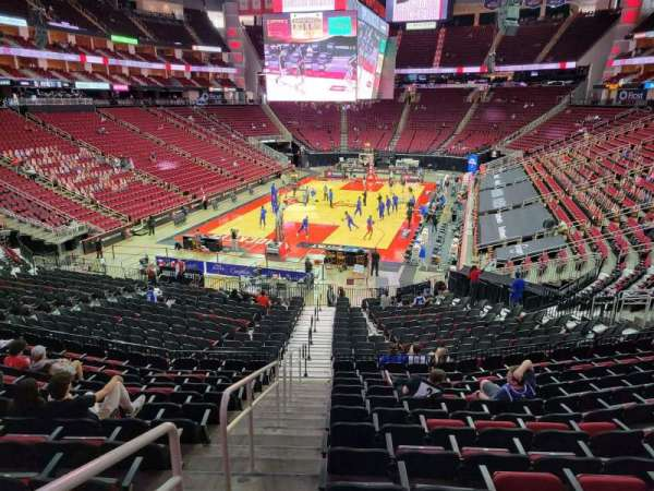Toyota Center, section: 125, row: 26, seat: 28