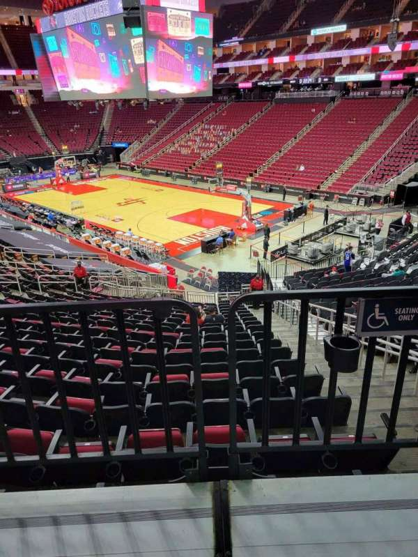 Toyota Center, section: 116, row: wc, seat: 2