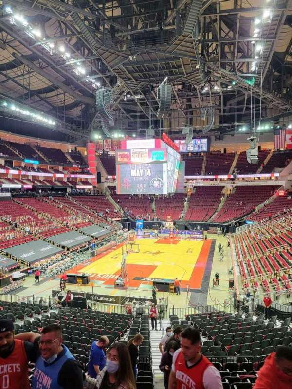 Toyota Center, section: 113, row: 26, seat: 1