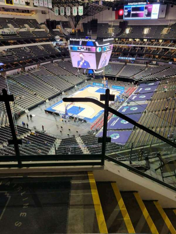 American Airlines Center, section: 332, row: G, seat: 10