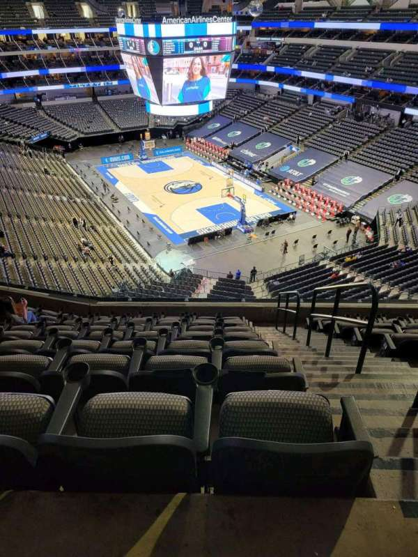 American Airlines Center, section: 304, row: D, seat: 1