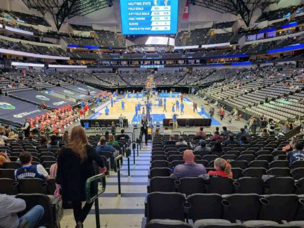 American Airlines Center, section: 112, row: S, seat: 22