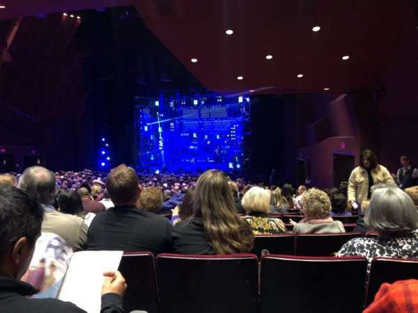 Segerstrom Hall, section: Orchestra, row: X, seat: 8