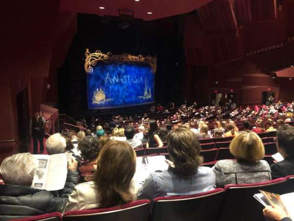 Segerstrom Hall, section: Orchestra Terrace, row: M, seat: 131