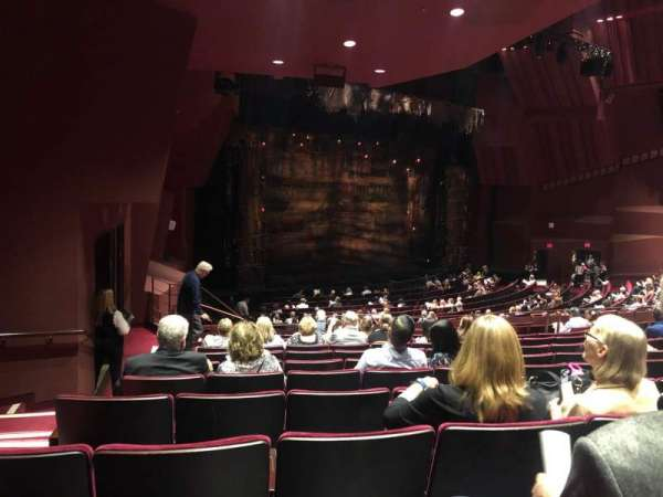 Segerstrom Hall, section: Orchestra Terrace, row: M, seat: 132
