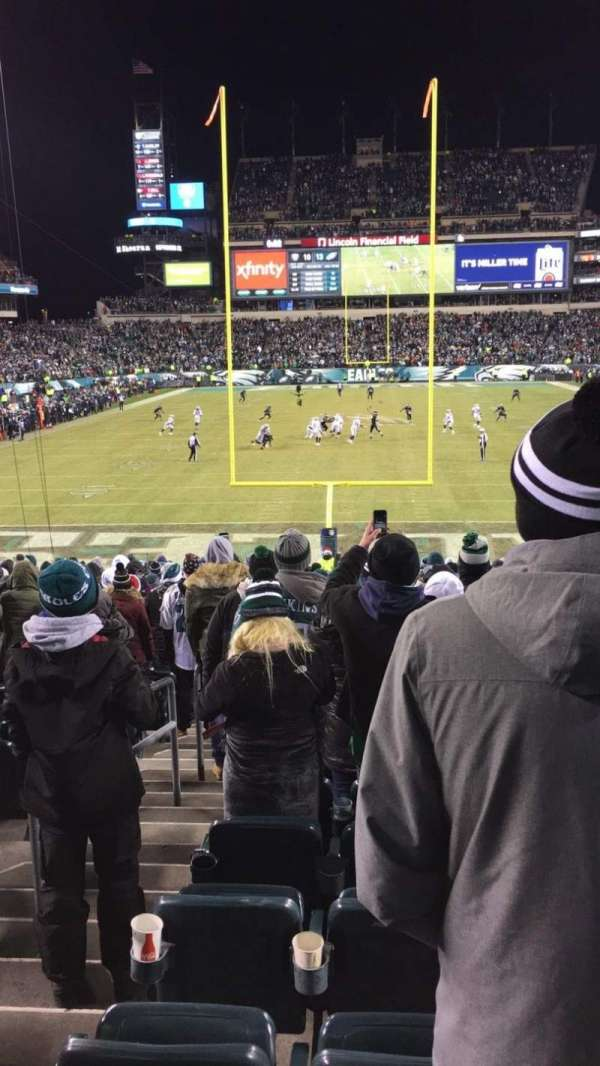 Lincoln Financial Field, section: 111, row: 23, seat: 31