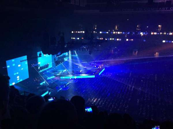 Wells Fargo Center, section: 201, row: 8, seat: 10