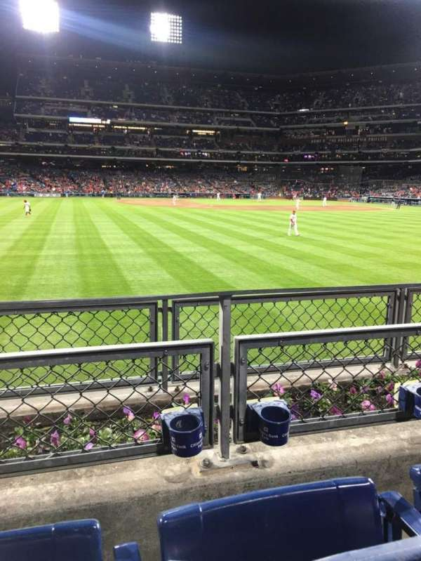Citizens Bank Park, section: 145, row: 2, seat: 14