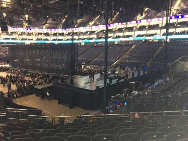 The O2 Arena, section: 114, row: T, seat: 421