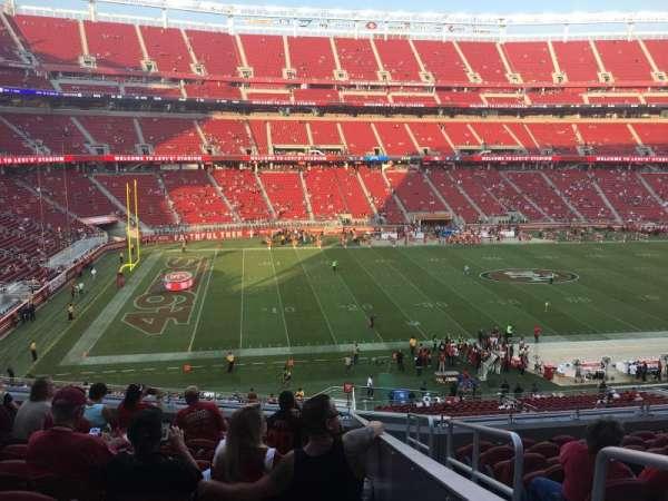 Levi's Stadium, section: 243, row: 10, seat: 1