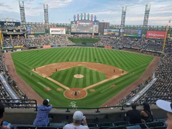 Guaranteed Rate Field, section: 531, row: 6, seat: 7