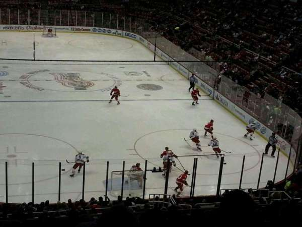 Joe Louis Arena Section 217 Home Of Detroit Red Wings