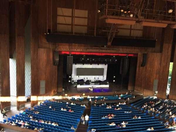 The Mann, section: Balcony Box 10, row: 1, seat: 2