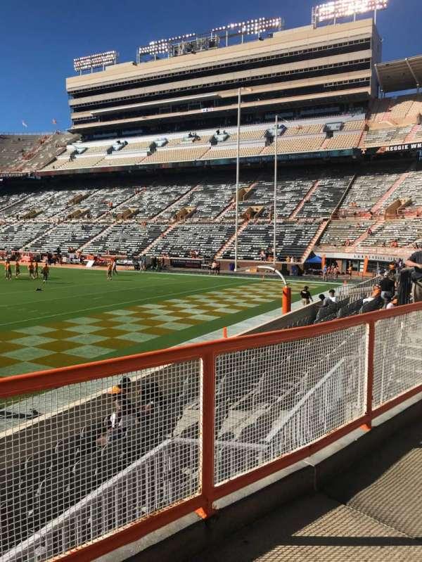 Neyland Stadium, section: Z11, row: 2, seat: 11