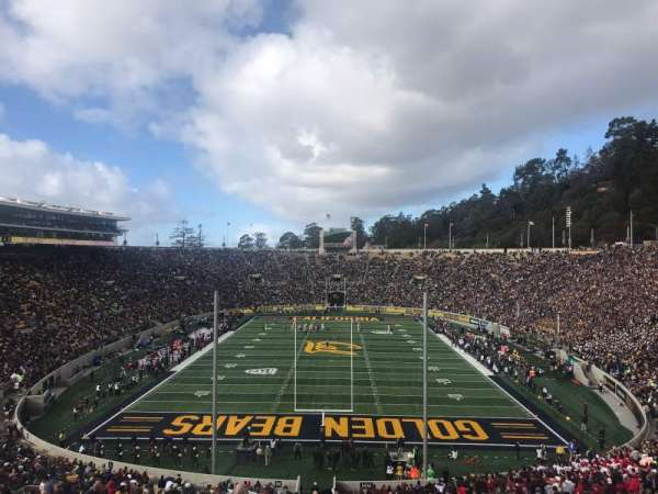 California Memorial Stadium, section: MM, row: 64, seat: 6