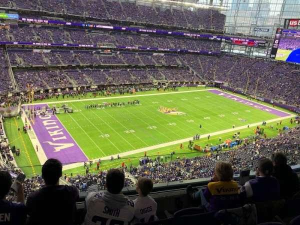 U.S. Bank Stadium, section: 317, row: D, seat: 11