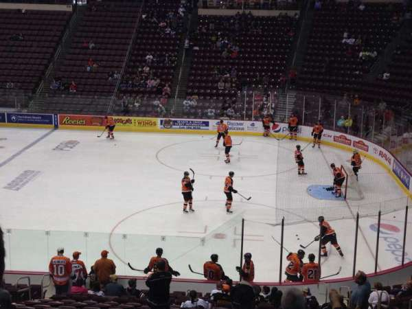 Giant Center, section: 122, row: W, seat: 12