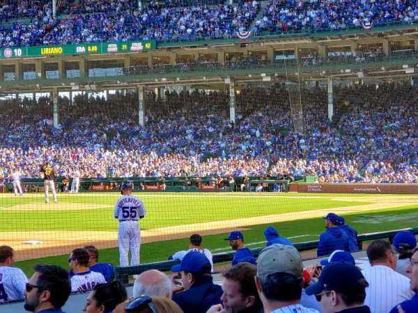 Wrigley Field, section: 9, row: 10, seat: 9